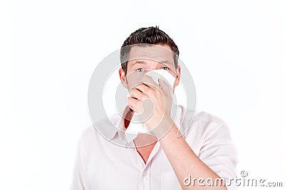 Cold virus sneeze
