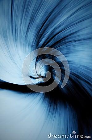 Cold vortex