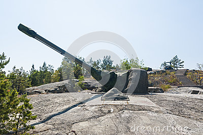 Cold War coastal artillery Sweden
