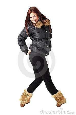 Cold Weather Fashion Royalty Free Stock Photography - Image: 8226037