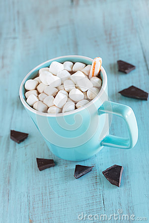 Cold Weather Winter Drink Hot Chocolate Stock Photo - Image: 48459556