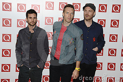 Coldplay Editorial Stock Photo
