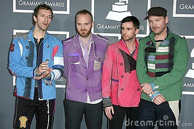 Coldplay Royalty Free Stock Images - Image: 22228159