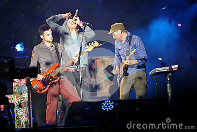 Coldplay Editorial Stock Image