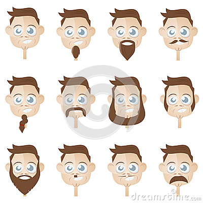 Coleção principal da barba