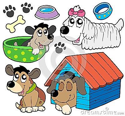 Colección linda 2 de los perros
