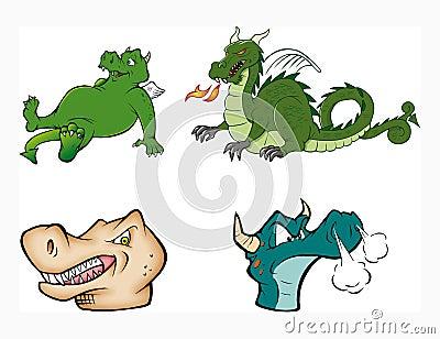 Colección de los dragones