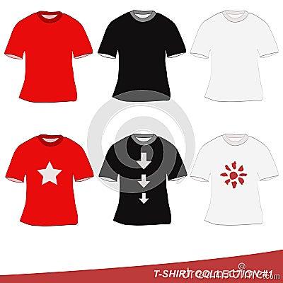 Coleção #1 do t-shirt