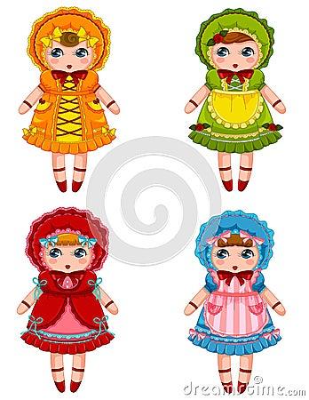 Coleção das bonecas