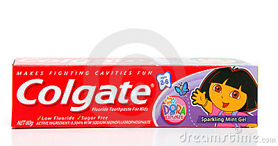 Colgate Children s toothpaste Editorial Photography
