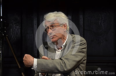 Colin Crouch, english professor Editorial Stock Photo