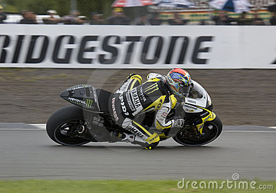 Colin Edwards Donington MotoGP 2009 Editorial Photo