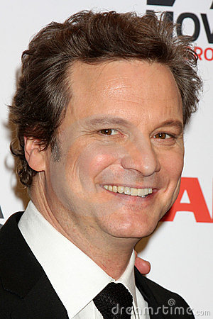 Colin Firth Editorial Stock Image