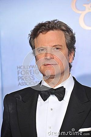 Colin Firth Editorial Image