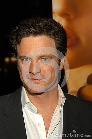 Colin Firth Foto de archivo editorial