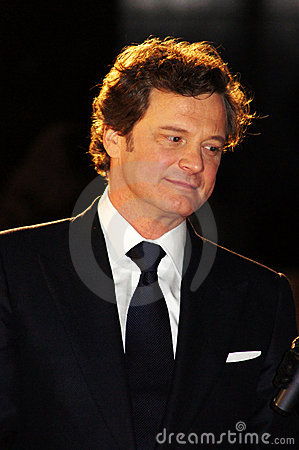 Colin Firth At The King s Speech Editorial Stock Photo