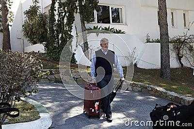 Colin Montgomerie Andalucia Golf Open, Marbella Editorial Photography