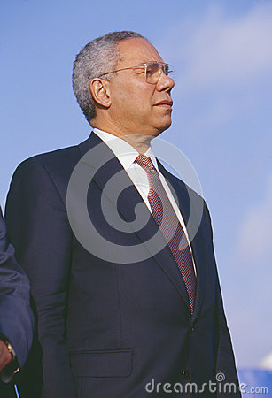 Colin Powell Editorial Photo