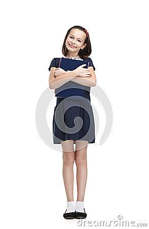 Écolière souriante