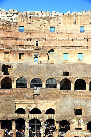 Coliseum Editorial Stock Photo