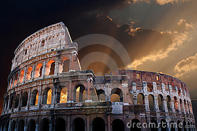 The Coliseum of Ancient Rome
