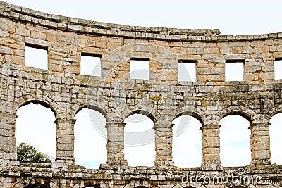 Coliseum arch