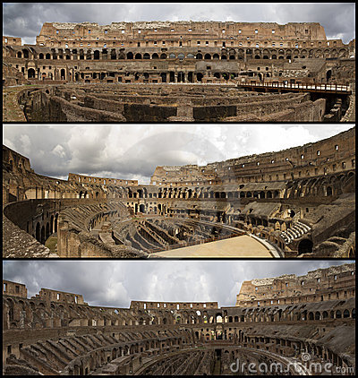 Coliseum collage