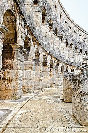 Coliseum corridor