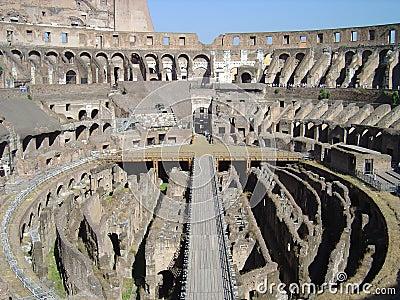 Coliseum corridors