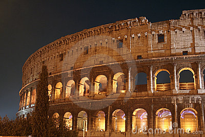 Coliseum Night (Colosseo - Rome - Italy)
