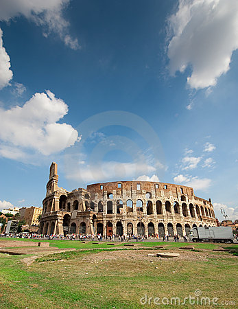 Coliseum Rome Editorial Stock Image