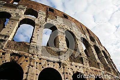 Coliseum are in Rome