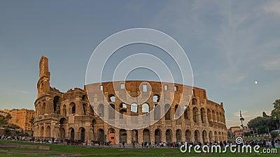 Coliseum Rome stock videobeelden