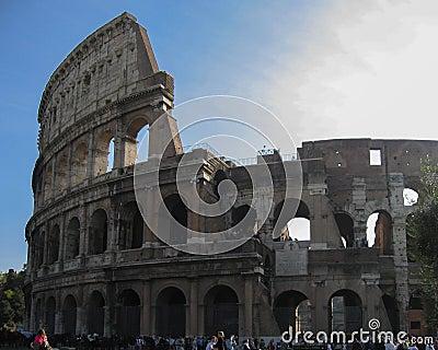 Coliseum Rome Editorial Photography