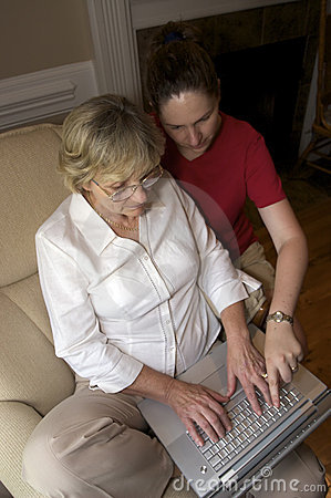 Collaborating over a laptop