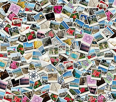 collage als achtergrond die van reisfoto 39 s wordt gemaakt royalty vrije stock foto afbeelding. Black Bedroom Furniture Sets. Home Design Ideas