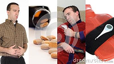 Collage de grippe