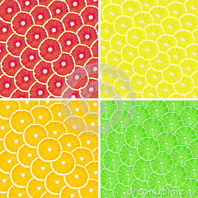 Collage of fruits