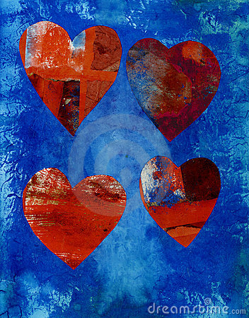 Collage Hearts