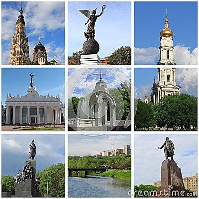 Landmarks of Kharkiv