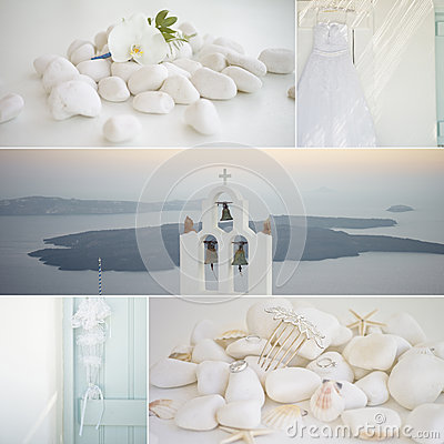 Free Collage Of Wedding Details Royalty Free Stock Photo - 46102865