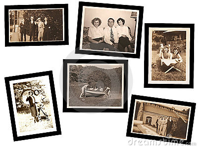 Collage of Old Photos