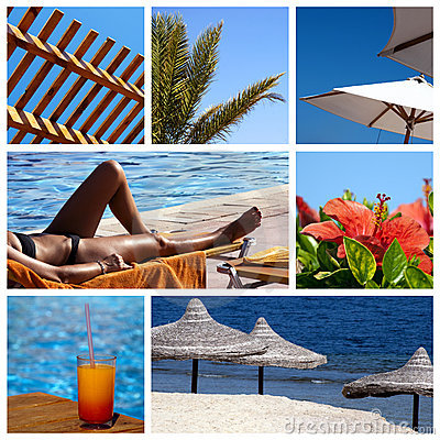 Free Collage Resort Royalty Free Stock Photos - 13219028