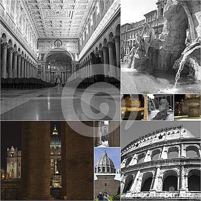 Collage of Rome