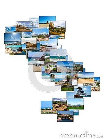 Collage Sardinia