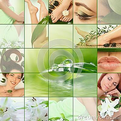 Collage vert