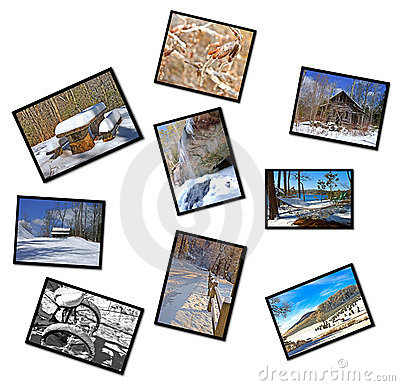 Collage of Winter Photographs