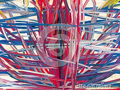 Collagen Digital Painting