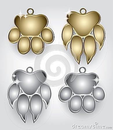 Collar medallion