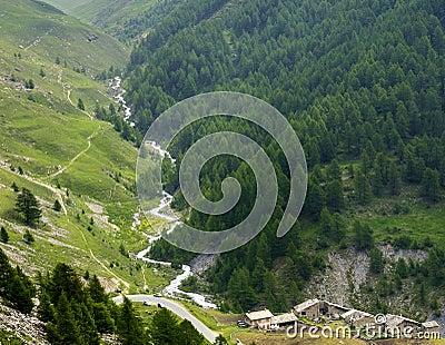 Colle dell Agnello, Val Varaita